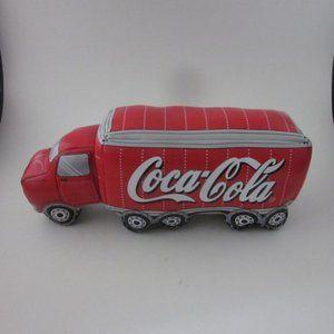 Coca Cola plush truck